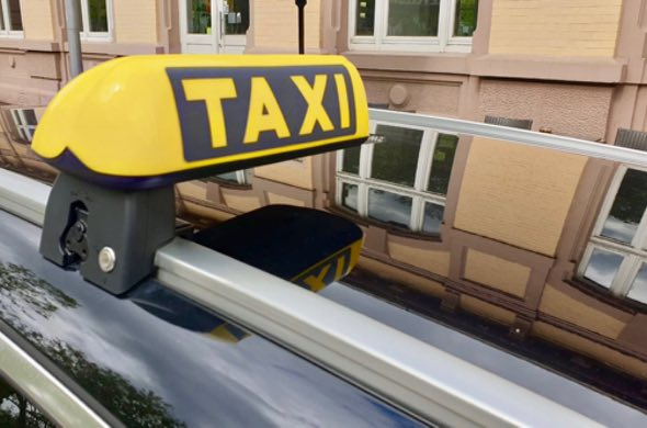 In Baden-Baden mit Taxi Minor